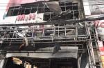 Hỏa hoạn thiêu rụi siêu thị điện máy 6 tầng tại Hà Nội