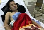 Người đàn ông cứu cô gái gặp TNGT kể lại sự việc mình bị đâm thấu phổi
