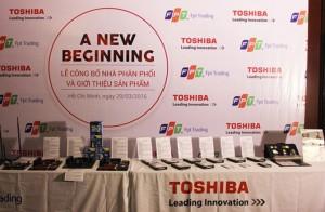 FPT áp dụng chính sách 1 đổi 1 với ổ cứng và ổ SSD Toshiba