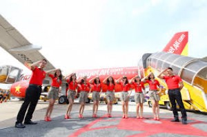 Vietjet bán 250.000 vé 0 đồng cho các đường bay quốc tế
