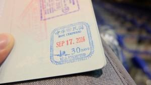 Kinh nghiệm xin visa Đài Loan trong 2 phút