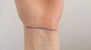 Nhìn ngấn cổ tay, biết vận mệnh và sức khỏe con người