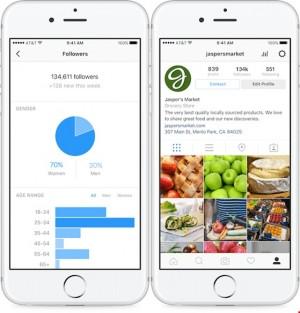 Ra mắt công cụ Instagram dành cho doanh nghiệp