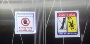 Tai nạn thang máy: Những dấu hiệu nguy hiểm trong thang chớ bỏ qua