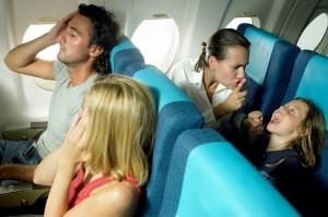 Phụ huynh rối bời vì khu vực 'không trẻ em' trên máy bay