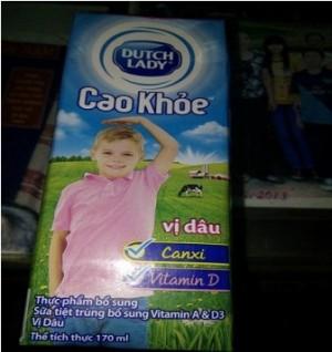 Sữa Dutch Lady 'lợn cợn' đã xác định được nguyên nhân