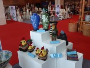 Hàng thủ công mỹ nghệ 'loay hoay' tìm hướng ra thị trường