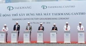 Tập đoàn Taekwang xây nhà máy giày thể thao 170 triệu USD tại Cần Thơ