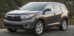 Toyota triệu hồi 7.100 xe Highlander 2016
