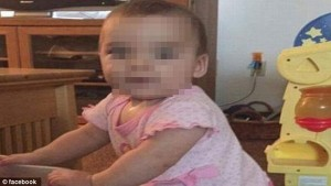 Xót xa bé gái 10 tháng tuổi bị người tình của mẹ cưỡng hiếp đến chết