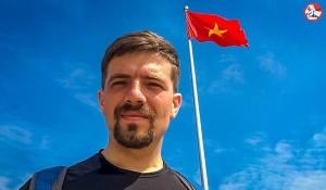Chàng trai người Nga đạp xe vòng quanh châu Á đã đến Vinh