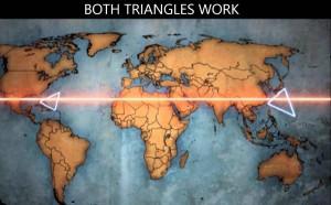 Phát hiện 2 'tam giác quỷ' đối xứng trên tọa độ Trái Đất: Giới khoa học 'điên đầu' giải mã