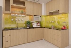 Vị trí đặt tủ nhà bếp đúng phong thủy trong nhà