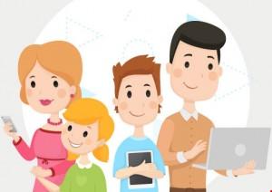 Trẻ con dễ bị tấn công khi truy cập Internet