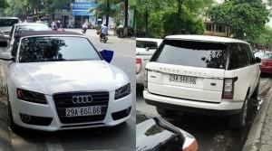 Xôn xao hai chiếc Lexus tại Quảng Ninh dùng chung một biển