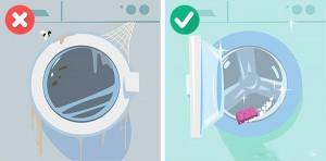 7 sai lầm khi sử dụng máy giặt cần loại bỏ ngay
