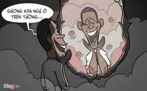 Hí họa về cuộc sống của thường dân Obama