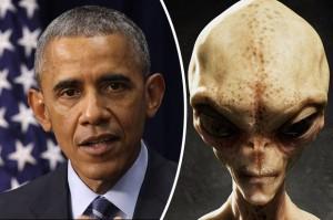 Lộ lý do Obama phải tiết lộ sự thật về người ngoài hành tinh