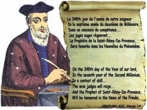 Lời tiên tri về năm 2017 của Vanga và Nostradamus khiến cả thế giới