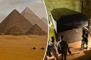Phát hiện 'quan tài người ngoài hành tinh' bí ẩn gần kim tự tháp cổ đại