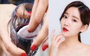 Tận dụng rượu vang đỏ trong ngày Tết để trị mụn, làm trắng da