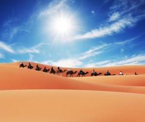 Top 5 sa mạc ấn tượng nhất thế giới