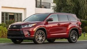 Toyota Highlander 2017 - đối thủ xứng tầm của Ford Explorer