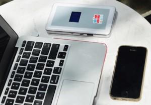 Bộ phát Wi-FI giúp truy cập internet tại hàng chục quốc gia