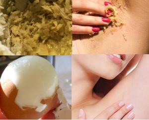 Cách dùng trứng gà giúp nách hôi kinh niên, thâm sì cũng thơm hồng sau 2 tuần thực hiện