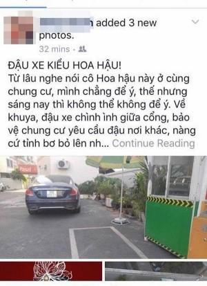 Kỳ Duyên bị hàng xóm tố kém văn hóa, về khuya đậu xe giữa cổng dù bị nhắc nhở