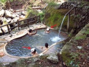 Vì sao người Nhật đội chiếc khăn nhỏ mỗi khi tắm 'khỏa thân' suối nước nóng