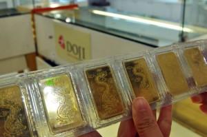 Vàng SJC trồi sụt quanh ngưỡng 37 triệu đồng mỗi lượng