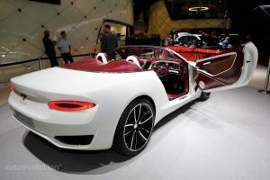 Bentley giới thiệu xe mui trần độc đáo EXP 12 Speed 6e