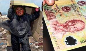 Chỉ vì tờ 10 ngàn đồng, con gái dắt em trai 4 tuổi bỏ trốn trong đêm