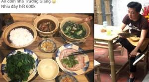 Khách than trời khi ăn ở quán cơm mới mở của Trường Giang