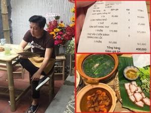 Nhà hàng của Trường Giang tố khách hàng đặt điều về mâm cơm