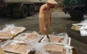 Thanh Hóa: Bắt xe tải vận chuyển gần 1 tấn nội tạng không rõ nguồn gốc