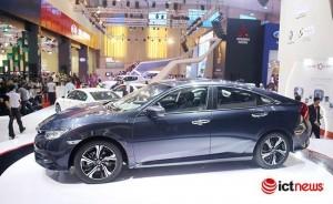 300 xe Honda Civic mới bị triệu hồi tại Việt Nam
