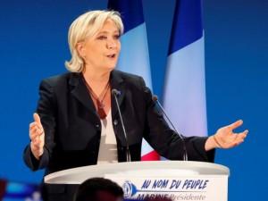 Bà Le Pen bất ngờ từ chức trước vòng 2 bầu tổng thống Pháp