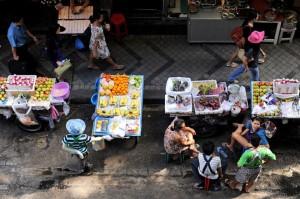 Bangkok sắp cấm xe hàng rong ở các đường lớn