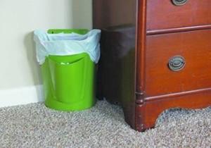 Đặt thùng rác kiểu này không khác nào rước vận xui xẻo trong nhà