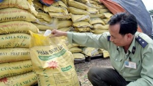 Công khai danh tính các doanh nghiệp sản xuất phân bón kém chất lượng