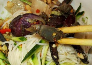 Bún ba khía, bún kèn - món ăn lạ mà quen ở vùng sông nước miền Tây
