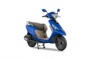 Xe ga 2017 TVS Scooty Zest 110 giá 16,86 triệu VNĐ