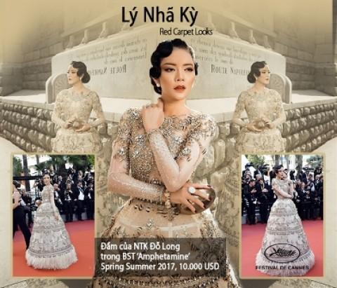 Lý Nhã Kỳ tiêu 10 tỷ cho việc 'váy áo' tại Cannes như thế nào?