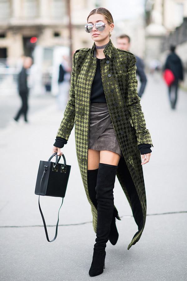 Học hỏi cô nàng siêu mẫu Hailey Baldwin 5 phong cách ăn mặc trẻ trung thời thượng cho mùa đông.