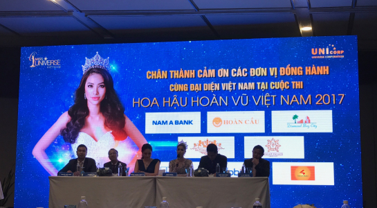 Hoa hậu hoàn vũ Việt Nam 2017 chính thức khởi động