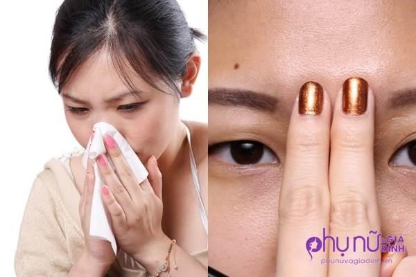 Cực hay: Hết nghẹt mũi chỉ trong 20 giây bằng 1 động tác đơn giản
