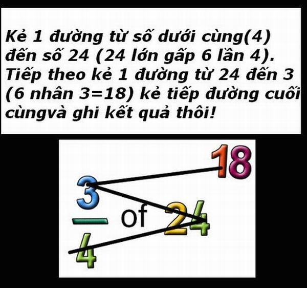 Mẹo tính toán cực hay mà sách giáo khoa chưa bao giờ dạy bạn