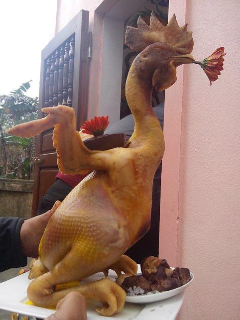 Năm Đinh Dậu có được phép cúng thịt gà?